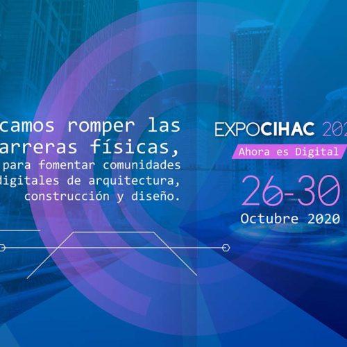Expo Cihac Digital 2020 está por comenzar