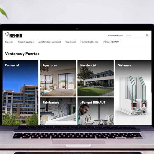 REHAU presenta su nueva página web