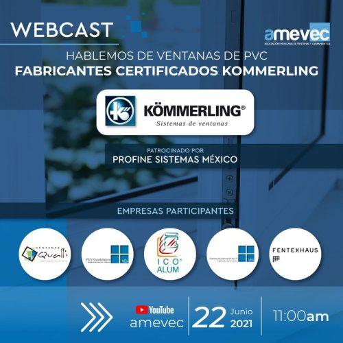 Hablemos de ventanas de PVC. Fabricantes certificados Kömmerling