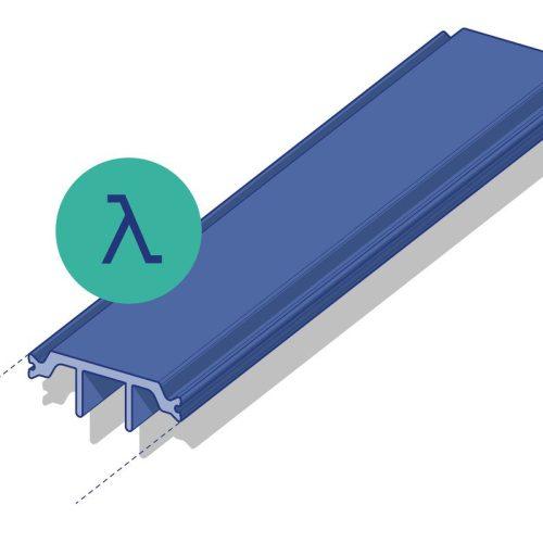 Poliamidas Low Lambda para cumplir con los exigentes requisitos térmicos de los cerramientos de aluminio