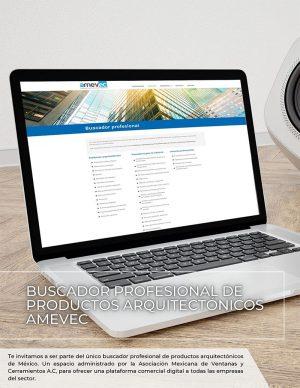 BUSCADOR PROFESIONAL DE PRODUCTOS ARQUITECTÓNICOS AMEVEC